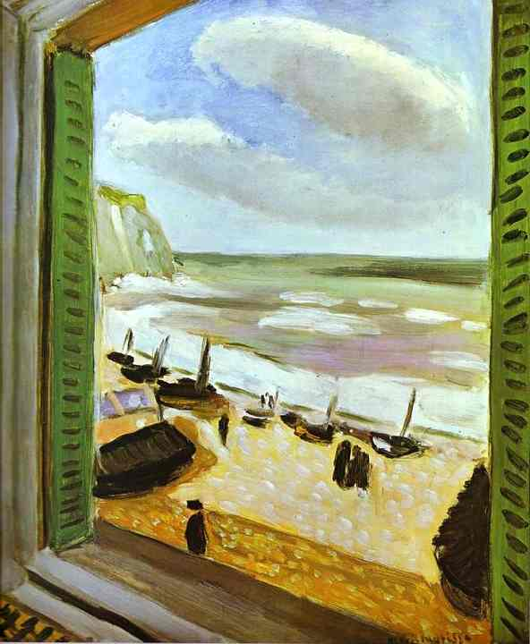 Open window at Collioure by Henri Matisse, 1905