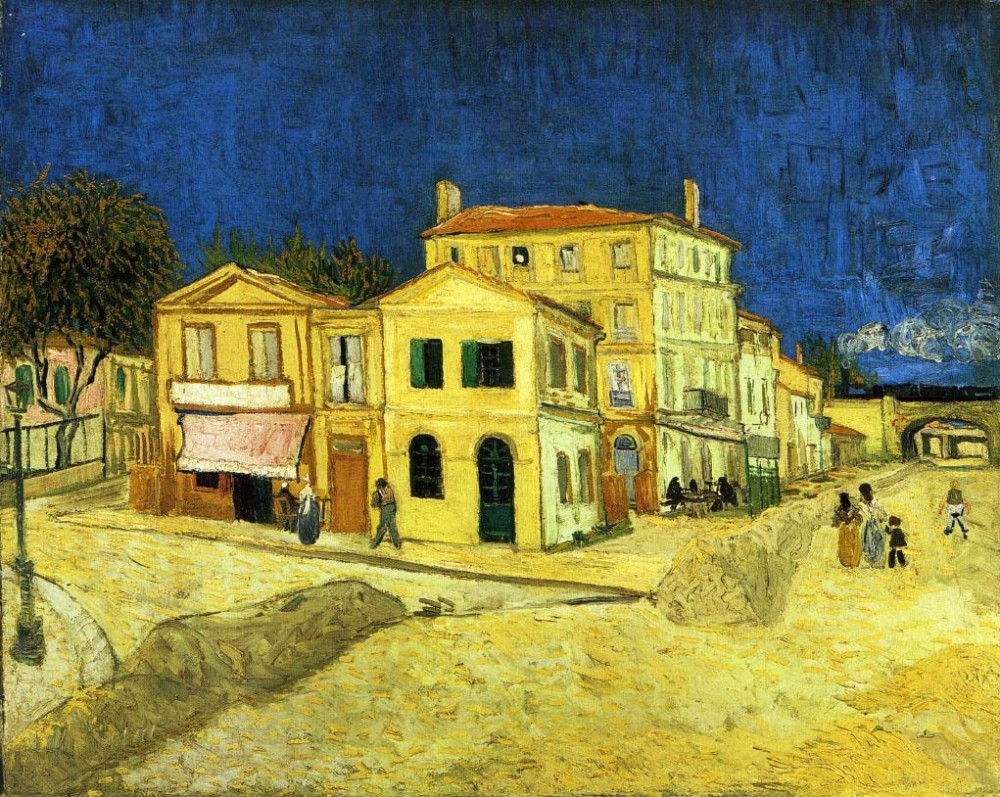 Van Gogh, The Yellow House, 1888