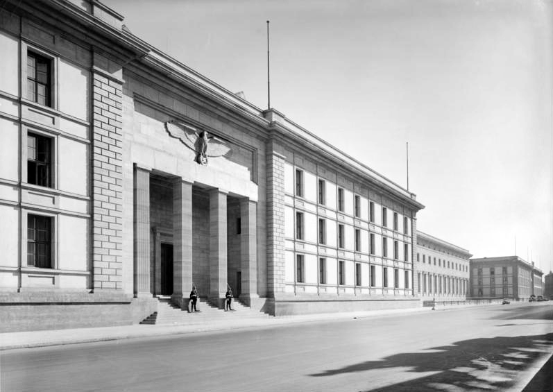 The Reichchancellory in Berlin, 1930s