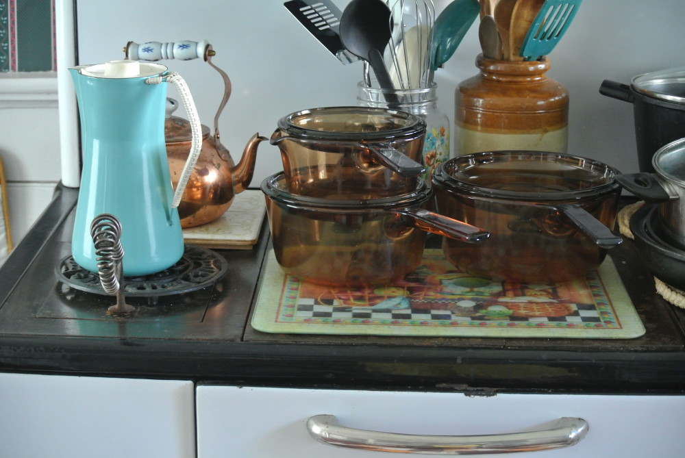 The Little Marvel Stove in the kitchen of Elizabeth Bishop House