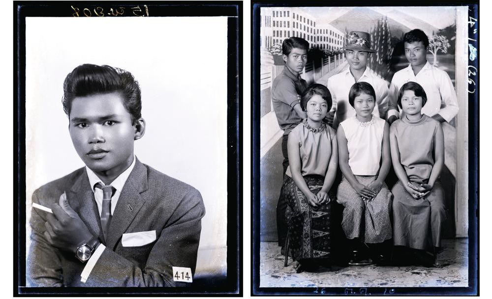 Pornsak Sakdaenprai's country music-style portraits from 1965.