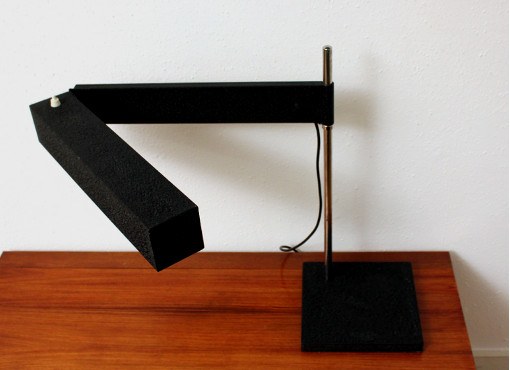 Saffa desk lamp designed by Dieter Waeckerlin