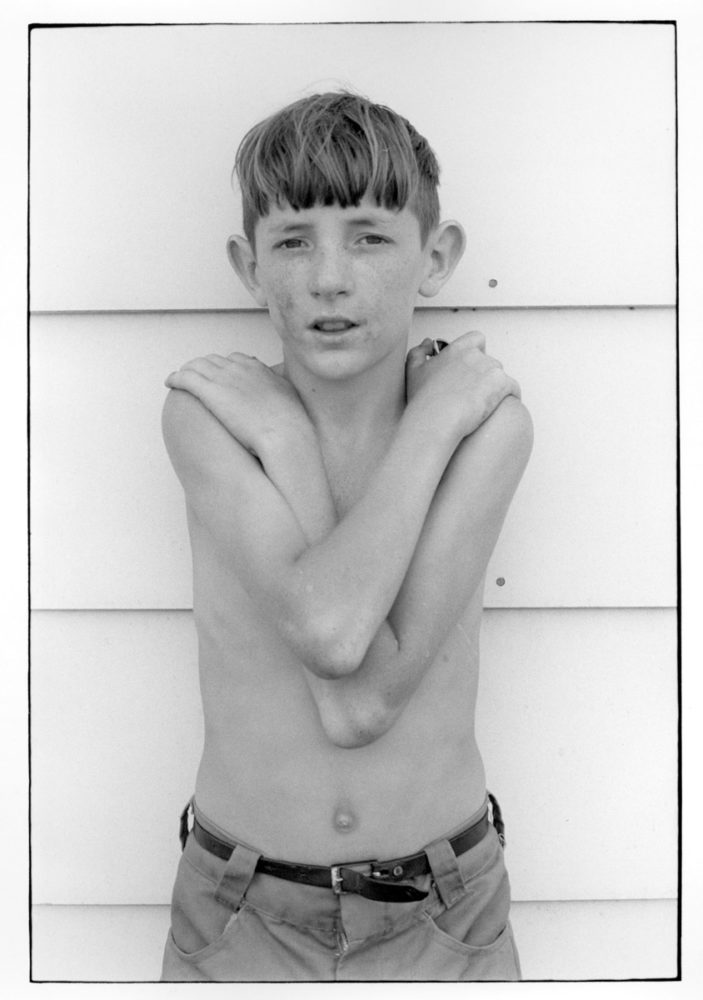 William Gedney, Boy with arms crossed, 1972