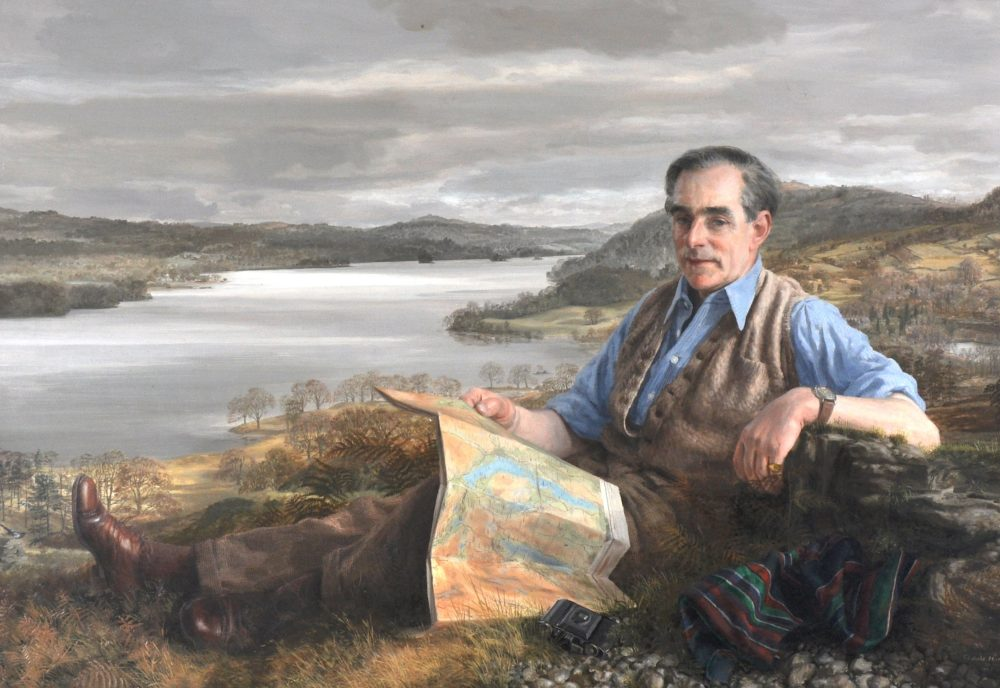 Essayist, traveller and historian Hubert Butler, painted in 1957 by Claude Harrison